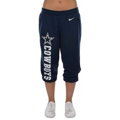 Dallas Cowboys Nike Wildcard All Time Capri Pant | Bottoms | Other | Womens | Cowboys Catalog | ShopCowboys