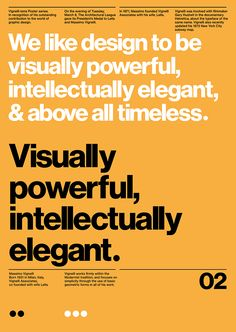 Vignelli—isms. on Behance