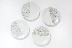 DIY speckled plates @burkatron