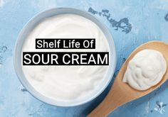 Does sour cream go bad? Sour cream will have a printed sell by, best by or use by date. Here is the shelf life of sour cream and how to tell if its gone bad. Home Recipes, Snack Recipes, Salad Recipes, Sour Cream Uses, Quick Meals, Frugal Meals, Summer Side Dishes, Shelf Life, Food Preparation