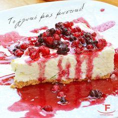 Οι δίαιτες αρχίζουν πάντα από Δευτέρα και ένα #Cheesecake🍰 θα είναι το γλυκό μας μυστικό!  💻 www.famiglianodelivery.gr ☎️ 2316.008.188 ➡️ Τσιρογιάννη 5, απέναντι από τον Λευκό Πύργο  #handmade_happiness #Λευκός_Πύργος #famigliano #ourplace #myfamigliano Cheesecake, Desserts, Handmade, Food, Tailgate Desserts, Deserts, Hand Made, Cheese Cakes, Eten