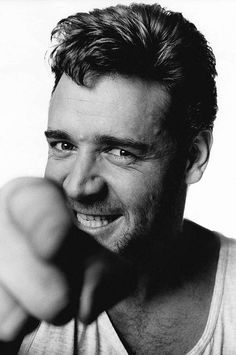 Russell Crowe fotografiado por Michael Birt, 2000