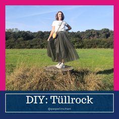 Für diesen Tüllrock brauchst Du nur 3 Zutaten - eiinfach und effektvoll Tulle, Sydney, Skirts, Blog, Outfits, Fashion, Sew Shorts, Fall Color Schemes, Clothes For Women