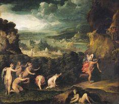 Niccolò dell'Abbate: Rapto de Proserpina (Ratto di Proserpina). Museo del Louvre.