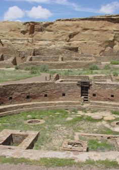 CHACO CULTURE NATIONAL HISTORICAL PARK, United States: is the most sweeping collection of ancient ruins north of Mexico. Between 900-1150, Chaco Canyon was a major center of culture for the Ancient Pueblo Peoples. Chacoans quarried sandstone blocks & hauled timber from great distances, assembling 15 major complexes that remained the largest buildings in North America until the 19th century.