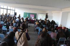 Así se ve la conferencia de apertura en el III Congreso Internacional de Géneros y Sexualidades