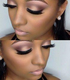 New wedding makeup pink lipstick eyeliner ideas Neue Hochzeit Make-up rosa Lippenstift Eye Make Up Tutorials, Best Makeup Tutorials, Best Makeup Products, Makeup Ideas, Makeup Brands, Dark Skin Makeup, Black Makeup, Natural Makeup, Eye Makeup