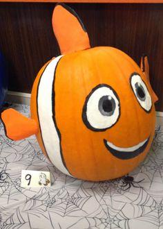 Harris Sisters GirlTalk: Pumpkin Decorating Party Disney Nemo Pumpkin