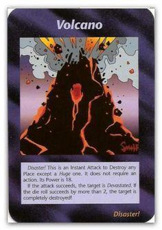Illuminati Card Volcano