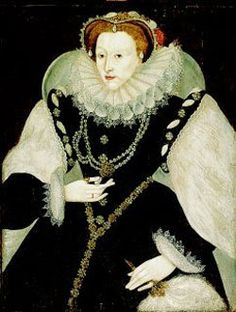 Portrait of Queen Elizabeth I. By an unknown artist, circa 1585.