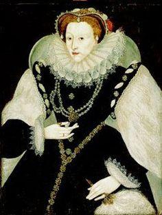 Portrait of Queen Elizabeth I. By an unknown artist, circa 1585.