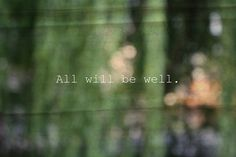 all will be well - Google Search