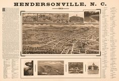 Hendersonville North Carolina 1913. Year: 1913 City: Hendersonville County: State: North Carolina Country: United States