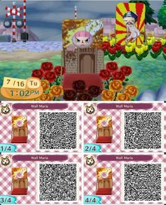 ACNL QR code - TITANS That twerking one in the background though XD