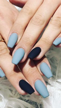 50 Fabulous Free Winter Nail Art Ideas 2019 - Page 40 of 53 . 50 Fabulous Free Winter Nail A. Winter Nail Art, Winter Nail Designs, Nail Art Designs, Nail Ideas For Winter, Cool Nail Ideas, Simple Nail Designs, Nails Design, Hair And Nails, My Nails