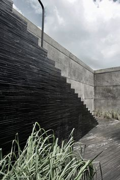 // The House Cast in Liquid Stone by SPASM Design Architects. Photography by Sebastian Zachariah