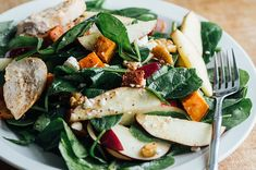 Sweet Potato & Apple Salad