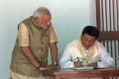 PM and Chinese President visit Sabarmati Ashram