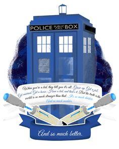 Custom TARDIS Wedding illustration - OhhhKaye.co.uk