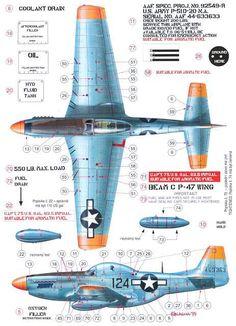 Yoryi (puntocom) - Modelismo y Maquetas - P-51 Mustang - Referencias