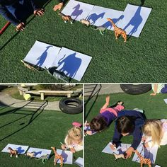 Shadow drawing #stemlearning #wintersunshine Ideia tirada da net