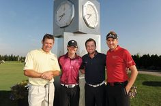 Lee Westwood, Rory McIlroy, Graeme McDowell & Ian Poulter
