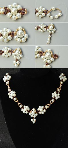 pearl beads necklace, wanna it?More details will be shared by LC.Pandahall.com soon.