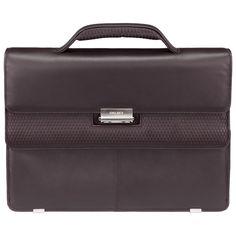 Delsey Chaillot Businesstasche 1 Fach mit PC Schutz Braun