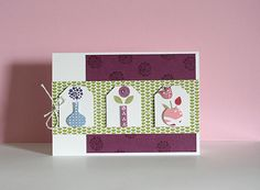 Bright blossoms - Stampin'up!  http://ink-annecy.over-blog.fr