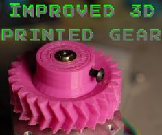 Here is a quick method of improving 3D printed gears using hot melt inserts. I have always found the failure point of 3D printed gears to be the nut trap method of shaft clamping. The hub usually breaks when you are trying to apply enough force to secure the shaft with the set screw.Materials: 5mm hot melt insert5mm bolt ~30mm 3d printed gear with well for hot melt insertDrill bit ~5mm5mm Reamer (optional)3mm tap2.5mm drill bitSoldering iron