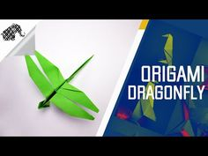 Origami How To Make An Origami Dragonfly - YouTube