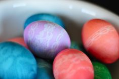 Tis' the season of coloring easter eggs! We wanted to try a little different way to dye some eggs, something more our style! We are both ob...