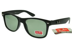 Ray-Ban Wayfarer 2140 Black Frame Green Lens RB1086 [RB1086] - AU$27.30 : Ray-Ban® And Oakley® Sunglasses Online Store