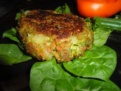Green Soy Burger | Healthy for Happy