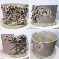 One of my popular designs. Secret walled garden yarn bowl ..with additional…