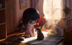 Yozora and her Kitties | Tokyo Otaku Mode #nendoroid