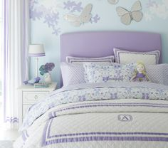 Audreys Purple Butterfly Room Aacck On Pinterest