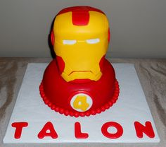 Ironman Cake ~ Pamela's Creative Cakes