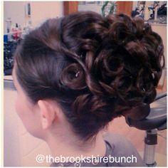 #styles #updo #wedding #hair