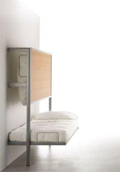 La Literal bed from www.orangeskin.com. Very very cool.
