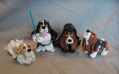 Bark Wars Star Wars Clay Basset Hound Sculpture | Flickr - Photo Sharing!