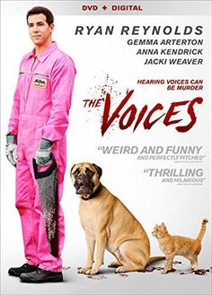 The Voices DVD Starring Ryan Reynolds