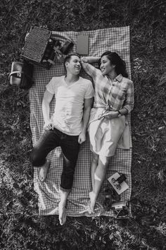 The coolest, quirkiest Wes Anderson-Inspired Picnic Engagement Shoot you'll ever see! Shot by Tesar Photography Picnic Engagement Photos, Engagement Pictures, Engagement Shoots, Picnic Photography, Couple Photography, Bridal Poses, Bridal Shoot, Picnic Photo Shoot, Small Bridal Parties