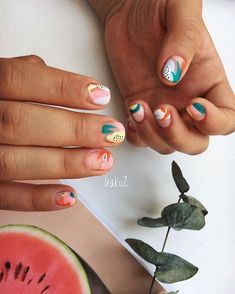 Here you can take a nail extension course, learn how to create a professional manicure and pedicure, and also improve your design and nail art skills. Trendy Nails, Cute Nails, My Nails, Jolie Nail Art, School Nails, Nail Designer, Minimalist Nails, Dream Nails, Nail Manicure