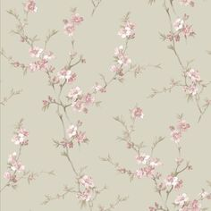 Cherry blossom wallpaper sage hill pink floral iphone 7 plus from by Cherry Blossom Wallpaper, Wallpaper Roll, Flower Wallpaper, Wallpaper Backgrounds, Wallpaper Designs, Floral Print Wallpaper, Floral Prints, Tree Wallpaper Bedroom, Paper Crafting