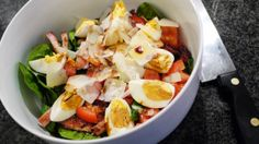 Polskie South Beach: Sałatka z jajkiem
