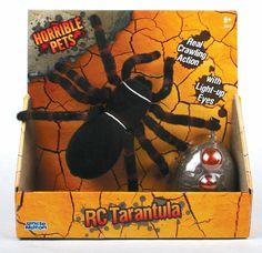 Amazon.com : Uncle Milton Radio Control Tarantula : Remote Controlled Robots : Toys & Games