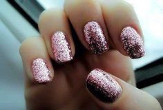 via weheartit @yseultdel - Image de nails, glitter, and pink