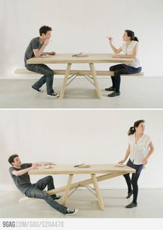 See-Saw Table.......I NEED this