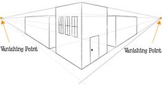 Two-Point Perspective   Beginner Drawing Lesson   Flickr - Photo Sharing!